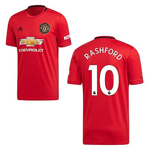 adidas Manchester United Trikot Home Kinder 2020 - RASHFORD 10, Größe:152