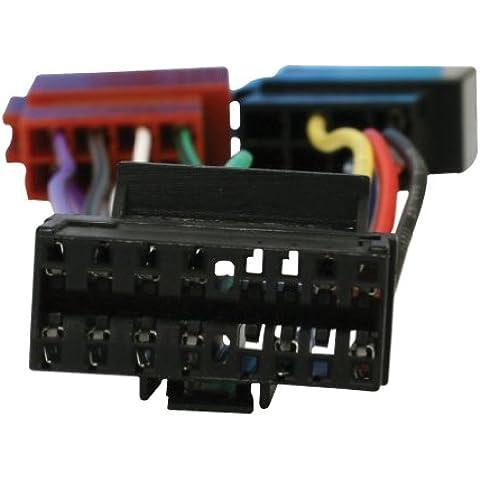 HQ ISO-PIONEER16P adaptador de cable - Adaptador para cable (1x Radio, 2x Car, Multi)