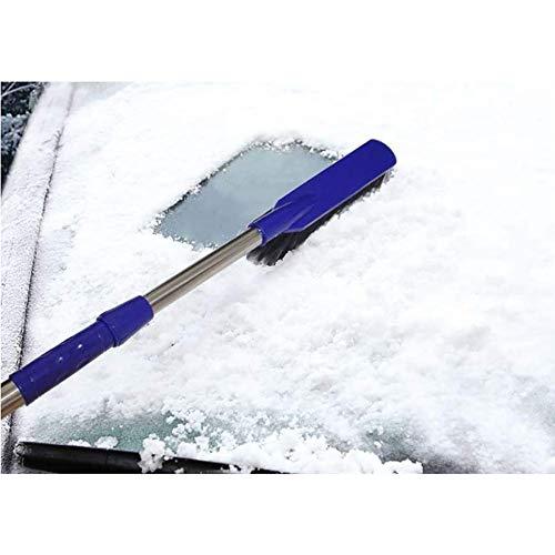 RUIX Eiskratzer Und Schneebürste,Einziehbare Dual-Purpose Schneeräummaschine/Auto Winter Schneeräumgeräte