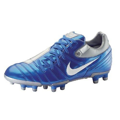 Nike FußBallschuh Total 90 Shift SG, Größe 11, Blau/Silber/Weiß -