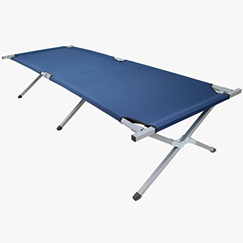 Brandina letto pieghevole da Campeggio di BB Sport, Colore:blu
