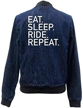 Eat Sleep Ride Repeat Bomber G