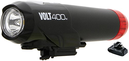 CatEye HL-EL462RC-H Helmlampe Volt 400 Duplex schwarz/rot 2018 Fahrrad helmlampe
