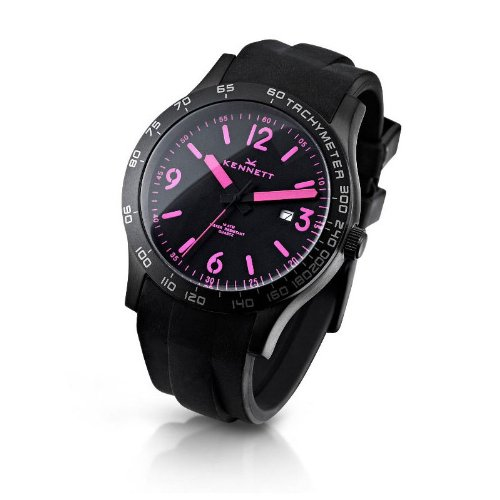 Kennett Men's Watch 1001.3403 Altitude Black And Pink