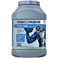 Maximuscle Cyclone Whey Protein and Creatine Powder, Chocolate Mint, 1.26 kg