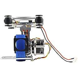fish pour DJI Phantom Gopro 3 4 Lumière CNC Caméra Moteur Brushless Gimbal avec BGC Controller RTF