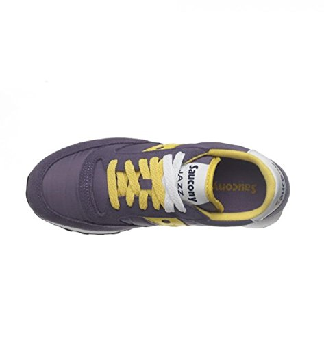 Saucony Jazz Original, Scarpe Low-Top Donna viola/giallo
