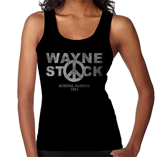 Cloud City 7 Waynestock Waynes World Logo Women's Vest