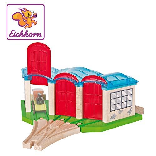Eichhorn 100001521-Stazione ferroviaria, Rimessa Locomotive, Bunt