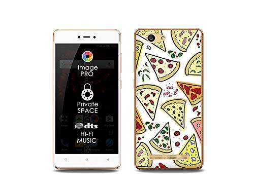 etuo Handyhülle für Allview X3 Soul Lite - Hülle, Silikon, Gummi Schutzhülle Fantastic Case - Pizza