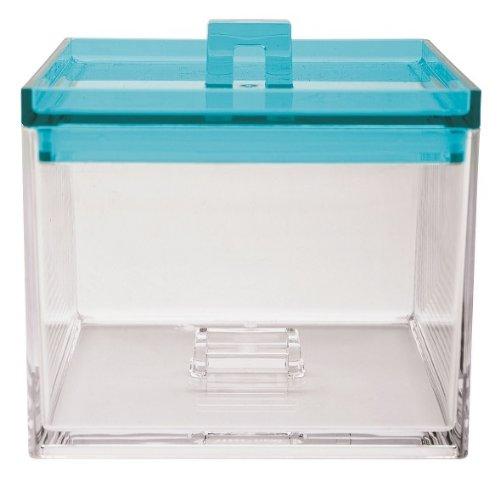Zakdesigns 1783-0210 Meeme Boîte Alimentaire Plastique Transparent/Bleu 45 x 35 x 25 cm 950 ml