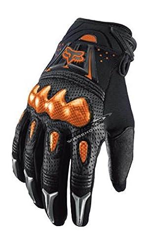 Fox 2015 Motocross Gants - Bomber Noir / Orange - XL (11)