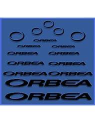 PEGATINAS ORBEA DR04 VINILO ADESIVI DECAL AUFKLEBER КЛЕЙ MTB STICKERS BIKE (NEGRO)