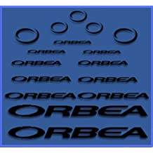 PEGATINAS ORBEA DR04 VINILO ADESIVI DECAL AUFKLEBER КЛЕЙ MTB STICKERS BIKE (NEGRO)