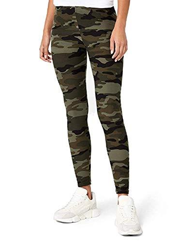 Color Caqui Pantalones Vaqueros Para Mujer Corte Alto Style Station24 Diseno De Camuflaje