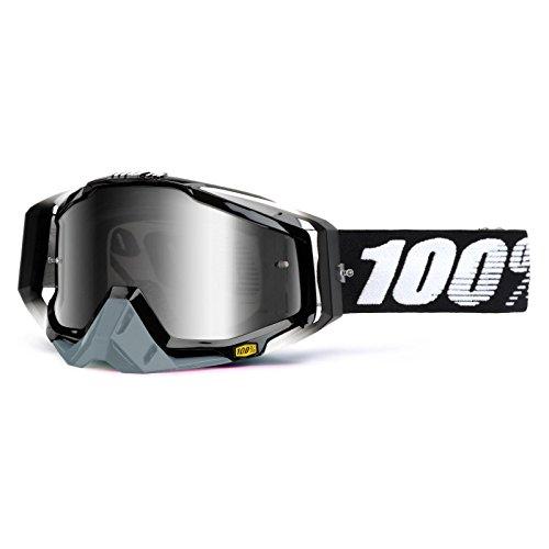100% RACECRAFT EXTRA Crossbrille - Abyss Black Größe UNI