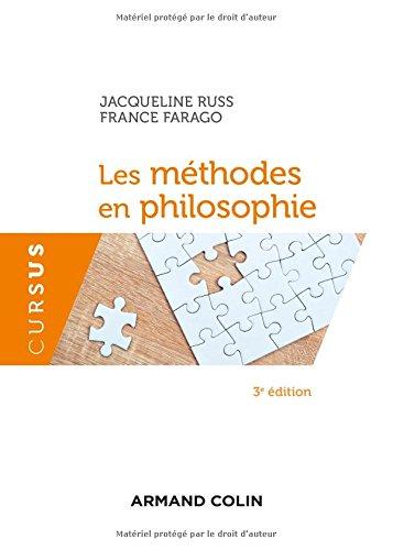 Les mthodes en philosophie - 3e d.
