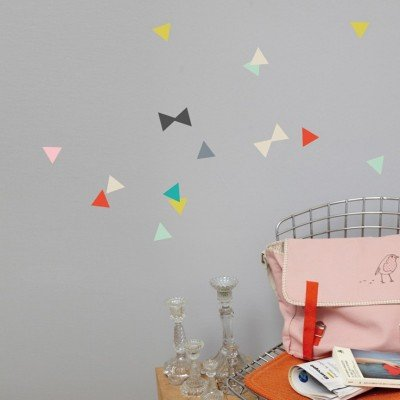 Mimi 'lou-Sticker, Dreiecke, 19 x 26 cm