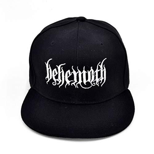 CGXBZA Herren Bestickung Baseball Cap Berühmte Black Metal Band Cap -