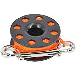 Best Divers ml0056or, carrete Buceo Unisex – Adulto, Naranja, 30 metros