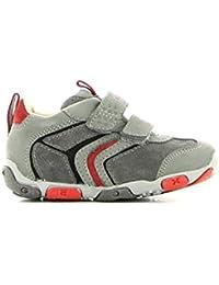 Geox - Zapatillas para niña 21 Stone/Red DaqeGv1LG4