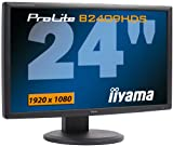 Produkt-Bild: Iiyama PL B2409HDS-B1 60,9 cm (24 Zoll) Widescreen TFT Monitor HDMI, DVI-D, VGA (Kontrastverhältnis 20000:1, Reaktionszeit 2ms) schwarz