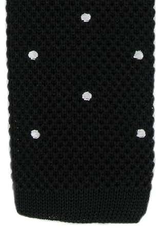 Black / White Spot conception cravate de Michelsons of London