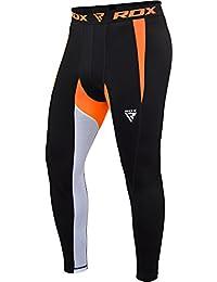 RDX MMA Pantalon De Compression Couche Base Fitness Course à Pied Thermique Legging Base Layer