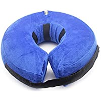 PET SPPTIES Pet Inflatable Collar, Comfy Pet Collar Cone for Revecovery, Inflatable Basic Dog Collars PS005 (S)