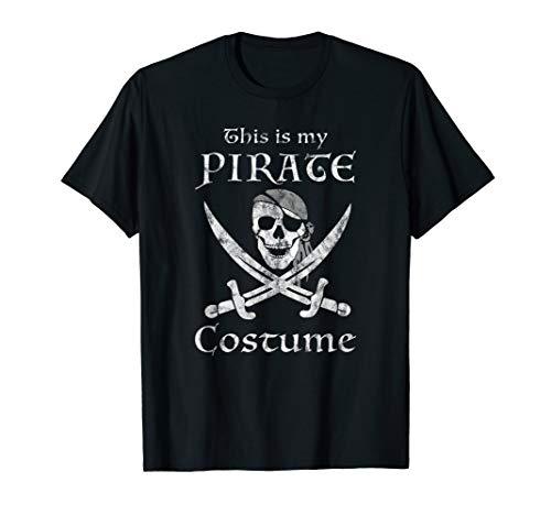 Lustige Kostüm Piraten - Piraten TShirt Mein Piraten Kostüm Lustig Halloween Party