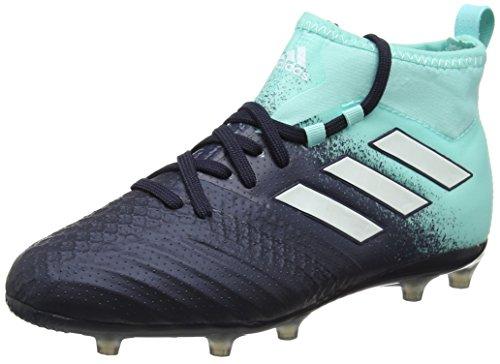 adidas Unisex-Kinder Ace 17.1 FG Fußballschuhe, Blau (Energy Aqua/Legend Mystery Ink), 37 1/3 EU -