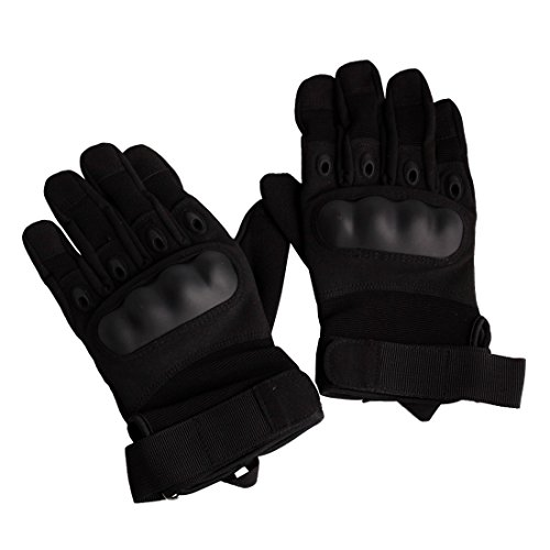 Andux Zone Im Freien Taktisch Handschuhe Motorrad ATV Reiten Full Finger Handschuhe für Männer QXST-01 - Leder-motorrad-mütze
