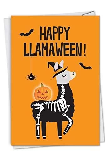 e Halloween-Grußkarte, mit Umschlag. C7053HWG ()