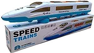 Manvik Enterprises Bump N Go Emu Speed Train for Kids with 3D Lights & Music