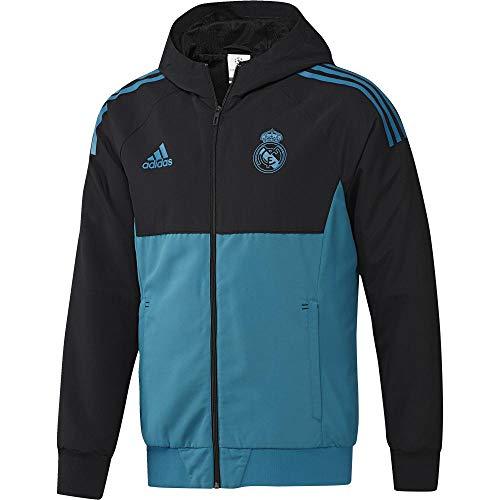 ... Hombre adidas Eu Pre Jkt Chaqueta-Líneaa Real Madrid FC Temporada 2017  2018 ecae42bcb6368