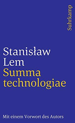 Summa technologiae (suhrkamp taschenbuch)