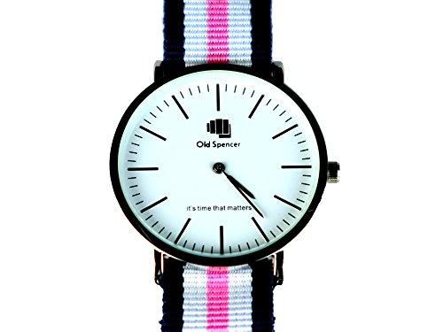 old-spencer-classic-stmawes-unisex-armbanduhr-analog-quarz-nylon-klassisch-nato-armband