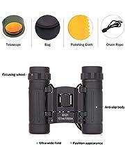 ADEPT Small Compact 10x25 Binoculars for Bird Watching Trip Concert Opera Kids Sports Game Outdoors Hiking Trip