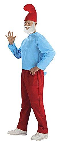 Papa Schlumpf Deluxe Karneval Fasching Kostüm STD 48-52