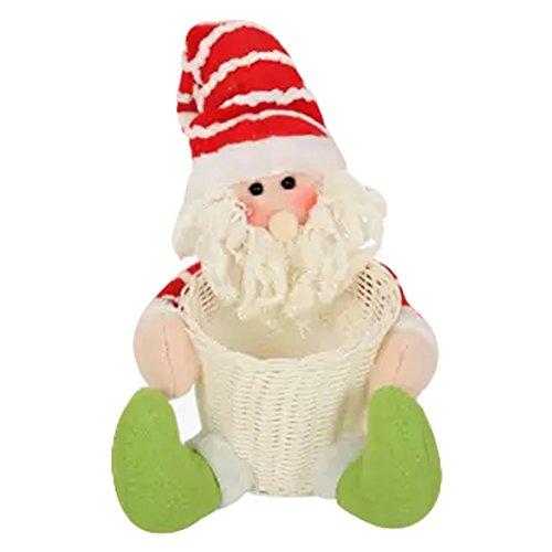 Sucrerie de Noël panier Comptoir ameublement articles Doll Décorations de Noël B