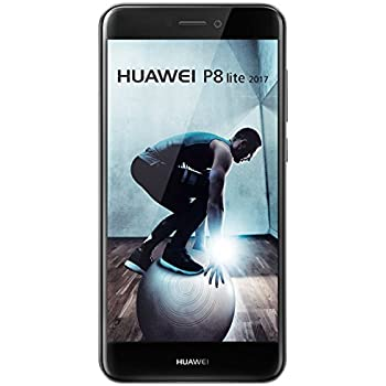 """Huawei P8 Lite - Smartphone libre de 5.2"""" IPS LCD (3 GB RAM, 16 GB, cámara 12 MP, Android 7.0), Versión 2017, color negro"""