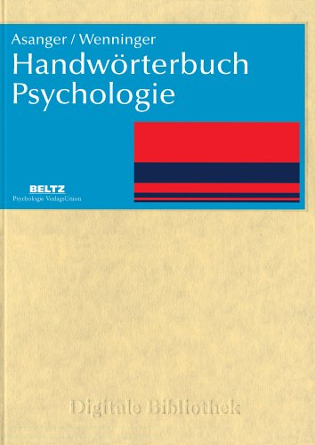 Handwörterbuch Psychologie (PC+MAC)