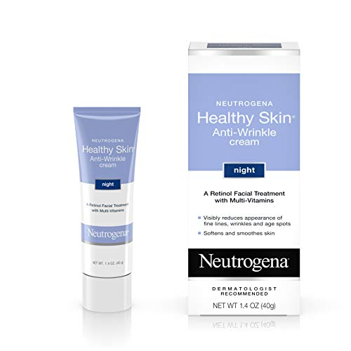 Neutrogena Healthy Skin Crema Noche Antiarrugas con Retinol, 1,4 oz