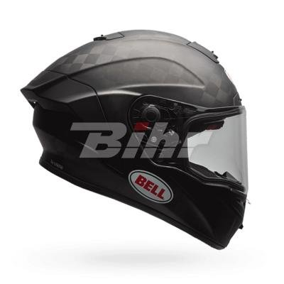 Bell Helme Pro Star Flex, massiv Carbon matt schwarz, Größe L