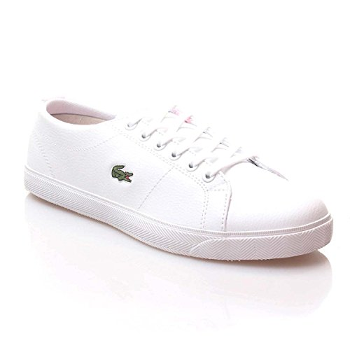 Lacoste Boy and Girl and Women Trainers 29SPJ0112 Marcel B53 WHT-PNK