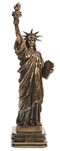 Ars-Bavaria Original Veronese: Freiheitsstatue Statue of Liberty 32 cm, Sonder Edition, bronziert