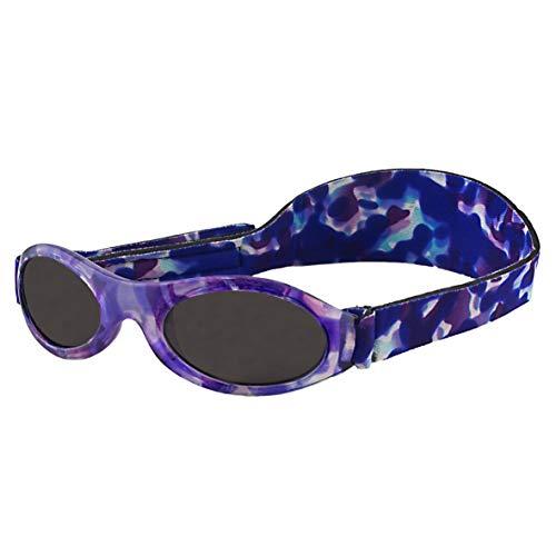 Banz 01594 Sonnenbrille Kidz mit elastischem Neoprenband, für Kopfumfang 50-60 cm (circa bis 2-5 jahre), UV400, violett