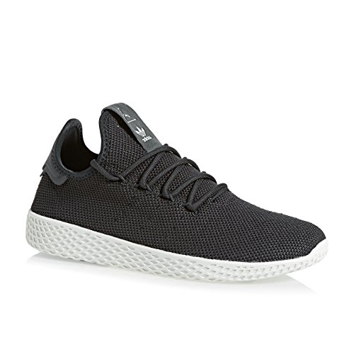 adidas Pharrell Williams Tennis HU Carbon Carbon White Grigio