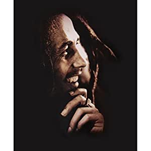 Couverture polaire Bob Marley