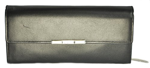 Esquire Helena porte-monnaie cuir 18 cm noir
